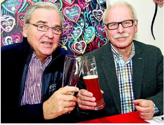 Wolfgang Feierabend und Hans Milberg (von links)