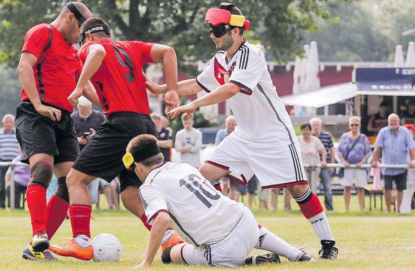 Blindenfußball 1
